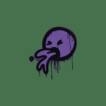 Sealed Graffiti | Puke (Monster Purple)