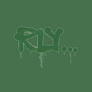 Sealed Graffiti | Rly (Jungle Green)