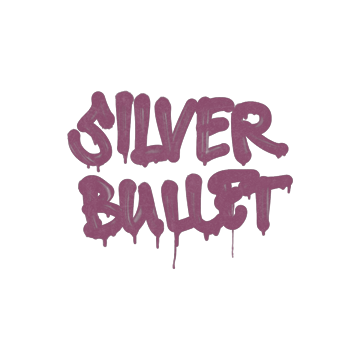 Sealed Graffiti   Silver Bullet (Princess Pink)