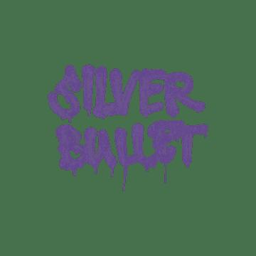 Sealed Graffiti   Silver Bullet (Monster Purple)
