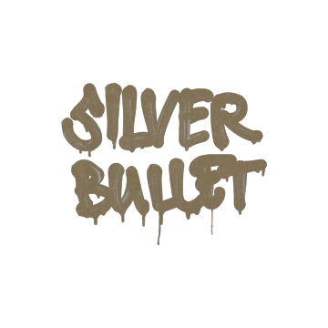 Sealed Graffiti | Silver Bullet (Dust Brown)