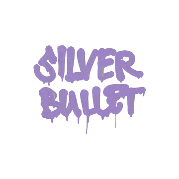 Sealed Graffiti | Silver Bullet (Violent Violet)
