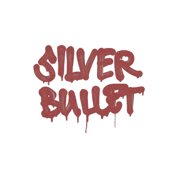 Sealed Graffiti | Silver Bullet (Blood Red)