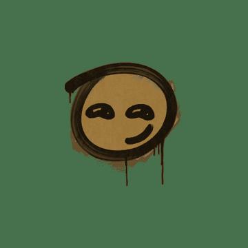 Sealed Graffiti   Smirk (Desert Amber)