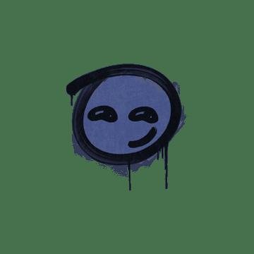 Sealed Graffiti | Smirk (SWAT Blue)