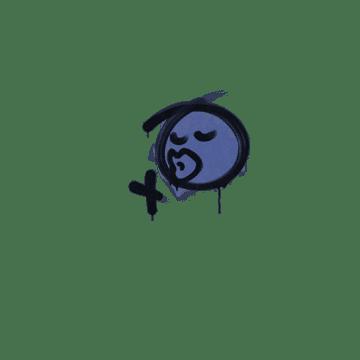 Sealed Graffiti | Smooch (SWAT Blue)