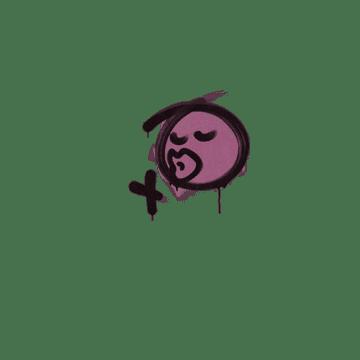 Sealed Graffiti | Smooch (Princess Pink)