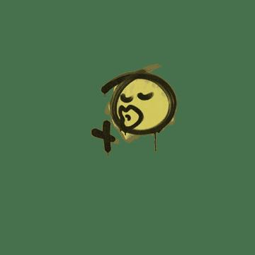 Sealed Graffiti   Smooch (Tracer Yellow)