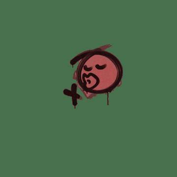Sealed Graffiti | Smooch (Blood Red)