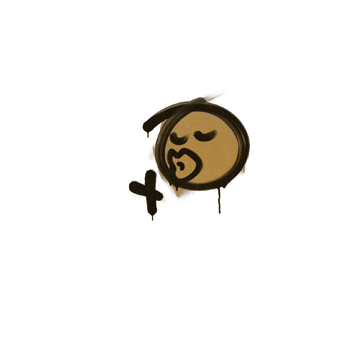 Sealed Graffiti   Smooch (Desert Amber)