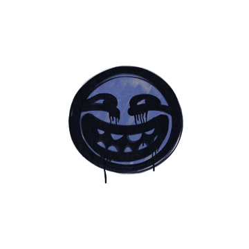 Sealed Graffiti | Smarmy (SWAT Blue)