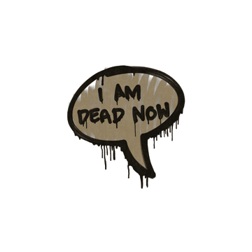Sealed Graffiti | Dead Now (Dust Brown)