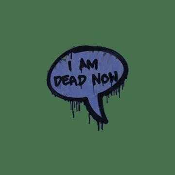 Sealed Graffiti | Dead Now (SWAT Blue)