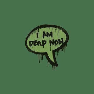 Sealed Graffiti | Dead Now (Battle Green)