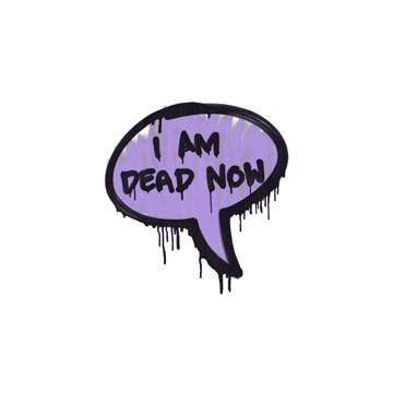 Sealed Graffiti | Dead Now (Violent Violet)