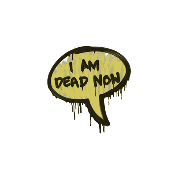 Sealed Graffiti | Dead Now (Tracer Yellow)