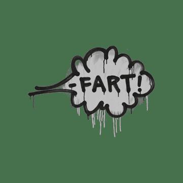 Sealed Graffiti | Fart (Shark White)