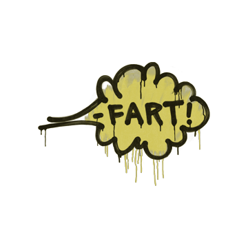 Sealed Graffiti | Fart (Tracer Yellow)