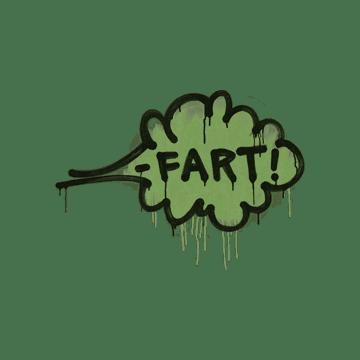 Sealed Graffiti | Fart (Battle Green)