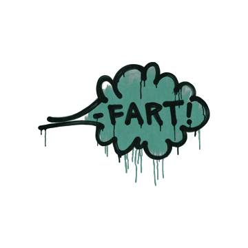 Sealed Graffiti | Fart (Frog Green)