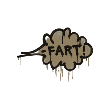 Sealed Graffiti | Fart (Dust Brown)