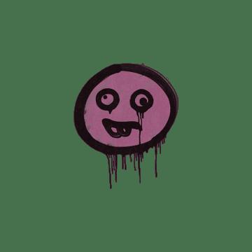 Sealed Graffiti | Goofy (Princess Pink)
