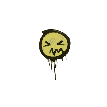 Sealed Graffiti | Grimace (Tracer Yellow)