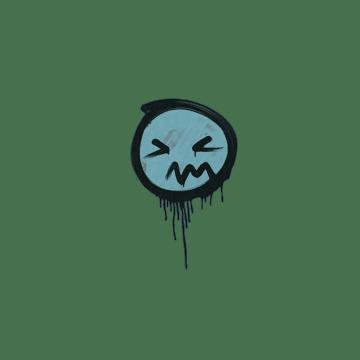 Sealed Graffiti | Grimace (Wire Blue)