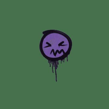 Sealed Graffiti   Grimace (Monster Purple)
