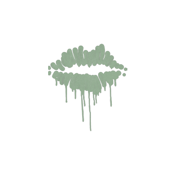 Sealed Graffiti | Kiss (Cash Green)