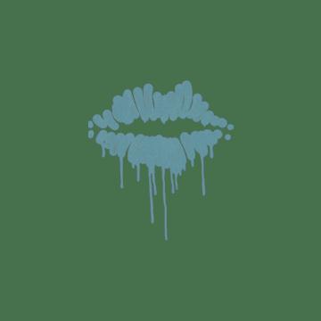 Sealed Graffiti | Kiss (Wire Blue)