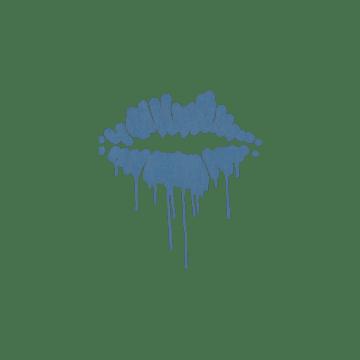 Sealed Graffiti | Kiss (Monarch Blue)