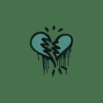 Sealed Graffiti | Broken Heart (Frog Green)