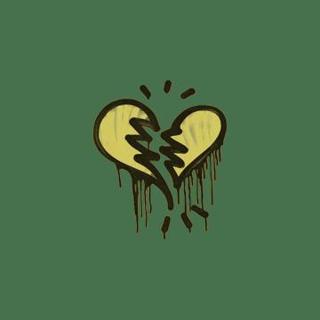 Sealed Graffiti | Broken Heart (Tracer Yellow)