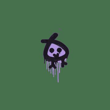 Sealed Graffiti | Little Bock (Violent Violet)