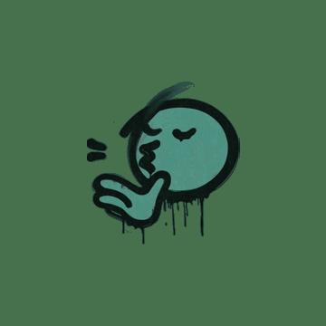 Sealed Graffiti | Chef Kiss (Frog Green)