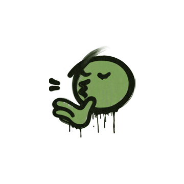 Sealed Graffiti | Chef Kiss (Battle Green)