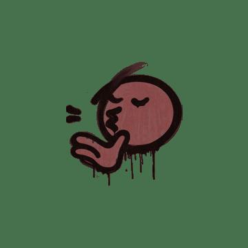 Sealed Graffiti | Chef Kiss (Brick Red)