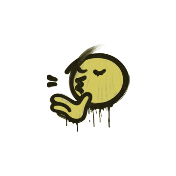 Sealed Graffiti | Chef Kiss (Tracer Yellow)