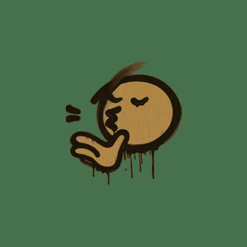 Sealed Graffiti   Chef Kiss (Desert Amber)