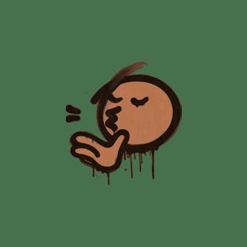 Sealed Graffiti | Chef Kiss (Tiger Orange)