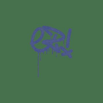 Sealed Graffiti | Little EZ (SWAT Blue)
