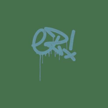 Sealed Graffiti | Little EZ (Wire Blue)