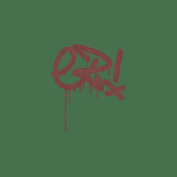 Sealed Graffiti | Little EZ (Brick Red)