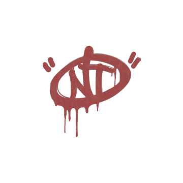 Sealed Graffiti | NT (Blood Red)