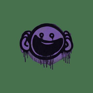 Sealed Graffiti | OMG (Monster Purple)
