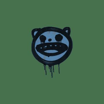 Sealed Graffiti | Happy Cat (Monarch Blue)