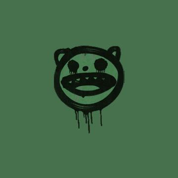 Sealed Graffiti | Happy Cat (Jungle Green)