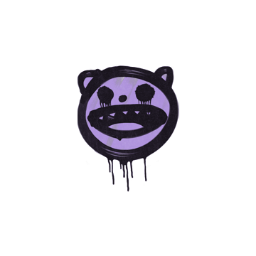 Sealed Graffiti | Happy Cat (Violent Violet)