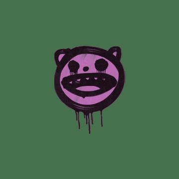 Sealed Graffiti | Happy Cat (Bazooka Pink)